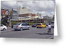 Cebu City Scene 2016 Greeting Card