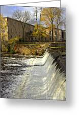 Cedar Creek Dam Greeting Card