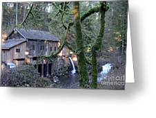 Cedar Creek Grist Mill Greeting Card