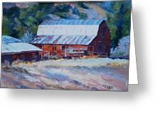Cedar Hill Barn Greeting Card