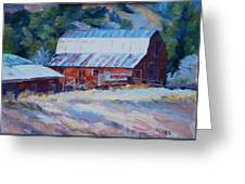 Cedar Hill Barn Greeting Card