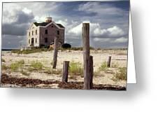 Cedar Island Lighthouse Long Island New York Greeting Card