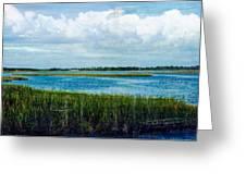Cedar Key 2 Greeting Card by Bob Senesac
