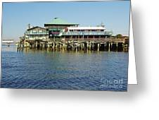 Cedar Key Waterfront Greeting Card