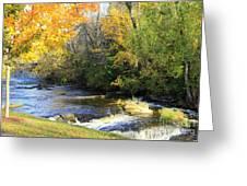 Cedarburg's Cedar Creek  Greeting Card