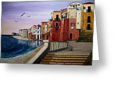 Cefalu Greeting Card