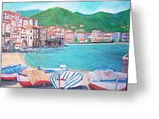 Cefalu In Sicily Greeting Card