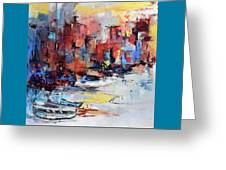 Cefalu Seaside Greeting Card by Elise Palmigiani