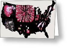 Celebrate America Greeting Card