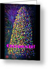 Celebrate In Lights Greeting Card
