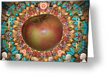 Celebrate The Apple Greeting Card