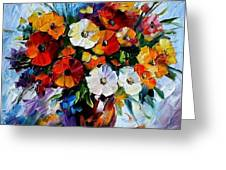 Celebration Bouquet Greeting Card