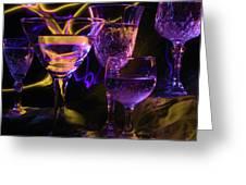 Celebration Of Light Greeting Card by Barbara  White