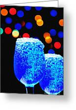 Celebrations With Blue Lagon Greeting Card