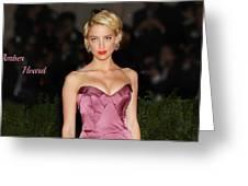 Celebrity Greeting Card