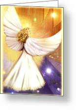 Celestial Angel Greeting Card by Melodye Whitaker