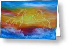 Celestial Dream Greeting Card