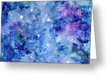 Celestial Dreams Greeting Card by Monique Faella