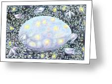 Celestial Egg Greeting Card