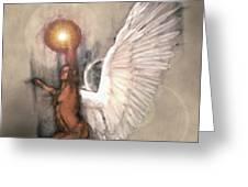 Celestial Glory Greeting Card