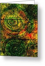 Celestial Grid Greeting Card