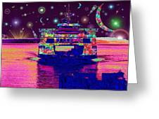 Celestial Sailing Greeting Card