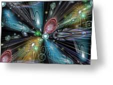 Celestial Vacuum Greeting Card