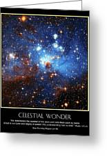 Celestial Wonders Greeting Card by Our Creator