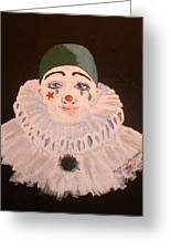 Celine The Clown Greeting Card