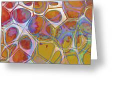 Cell Abstract 14 Greeting Card