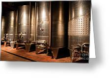 Modern Wine Cellar  Greeting Card