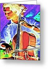Cello Greeting Card by Stephen Younts