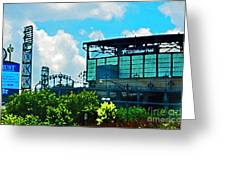 Cellular Field Greeting Card