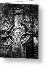 Celtic Cross Detail Killarney Ireland Greeting Card by Teresa Mucha