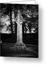 Celtic Cross In Killarney Ireland Greeting Card