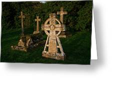 Celtic Cross St Divids Church 3 Greeting Card