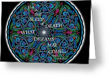 Celtic Dreamcatcher Greeting Card