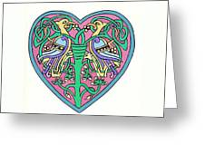 Celtic Heart Greeting Card