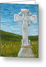 Celtic High Cross Greeting Card