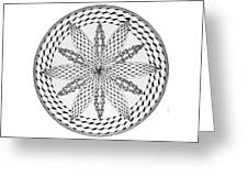 Celtic Knot Mandala Greeting Card
