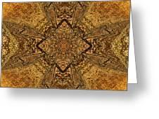 Celtic Mandala Abstract Greeting Card