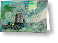 Celtic Tones Greeting Card