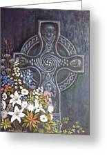 Celtic Wedding Bouquet Greeting Card