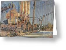 Cement Hopper Greeting Card