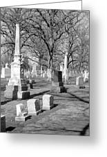 Cemetery 3 Greeting Card