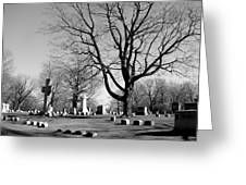 Cemetery 5 Greeting Card