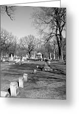 Cemetery 7 Greeting Card