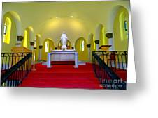 Cemetery Chapel Greeting Card
