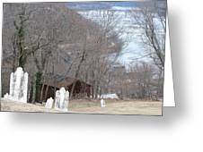 Cemetery Color Greeting Card