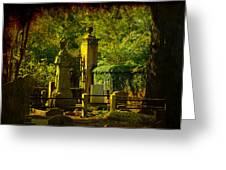 Cemetery In Charleston Greeting Card